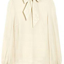 Erin Fetherston Francis silk-chiffon blouse ($118)