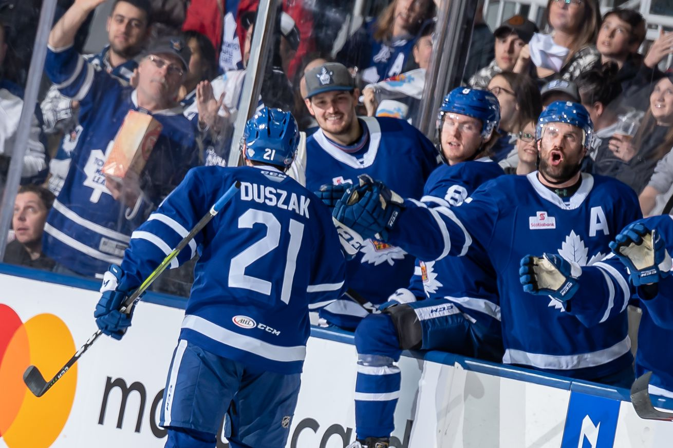 Toronto Marlies reach Conference Finals after sweep of Cleveland Monsters
