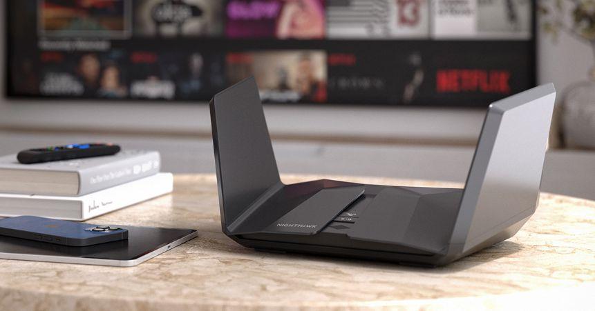 Netgear's new Nighthawk RAXE500 is its first Wi-Fi 6E router