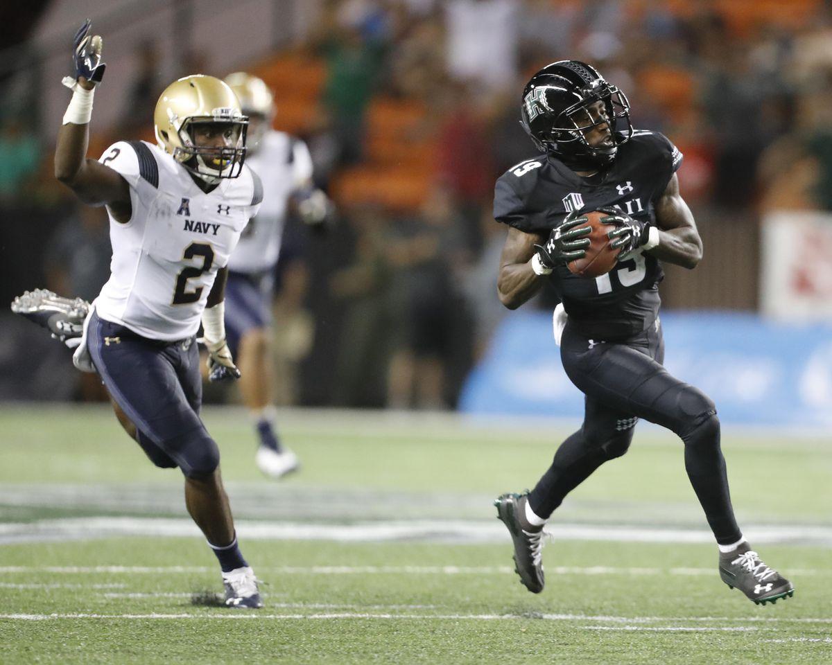 NCAA Football: Navy at Hawaii