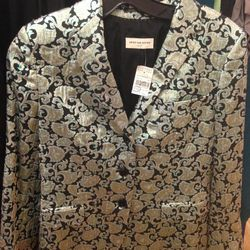 Dries van Noten silk brocade blazer, $227 (was $379 on opening day)