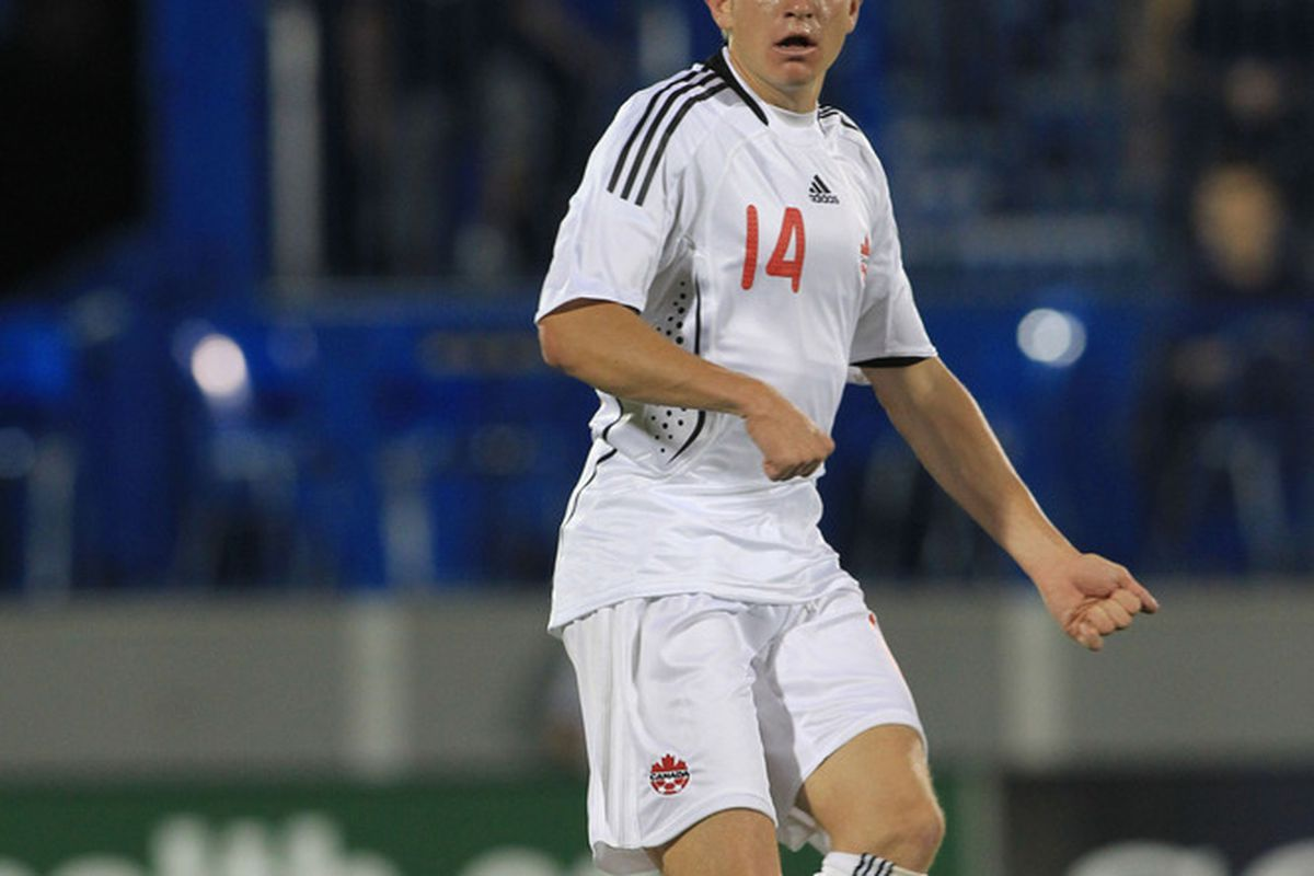 Terry Dunfield will be the only Vancouver Whitecap representing his country at this summer's Gold Cup. Who else could have gone? (Pepe/Canadian Soccer Association)