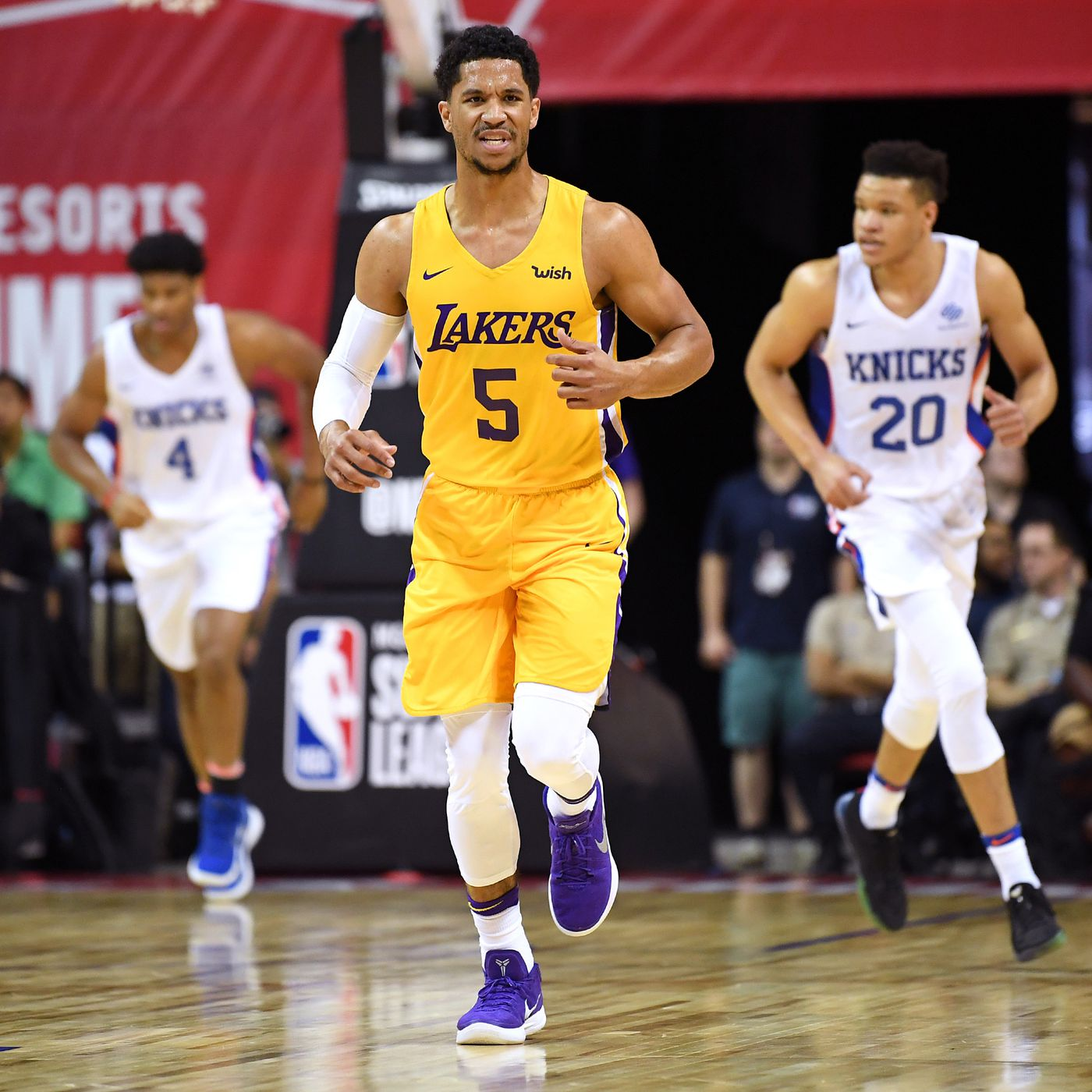 abc2bfe0c77 Lakers News  Josh Hart explained why he switched from No. 5 to No. 3 ...