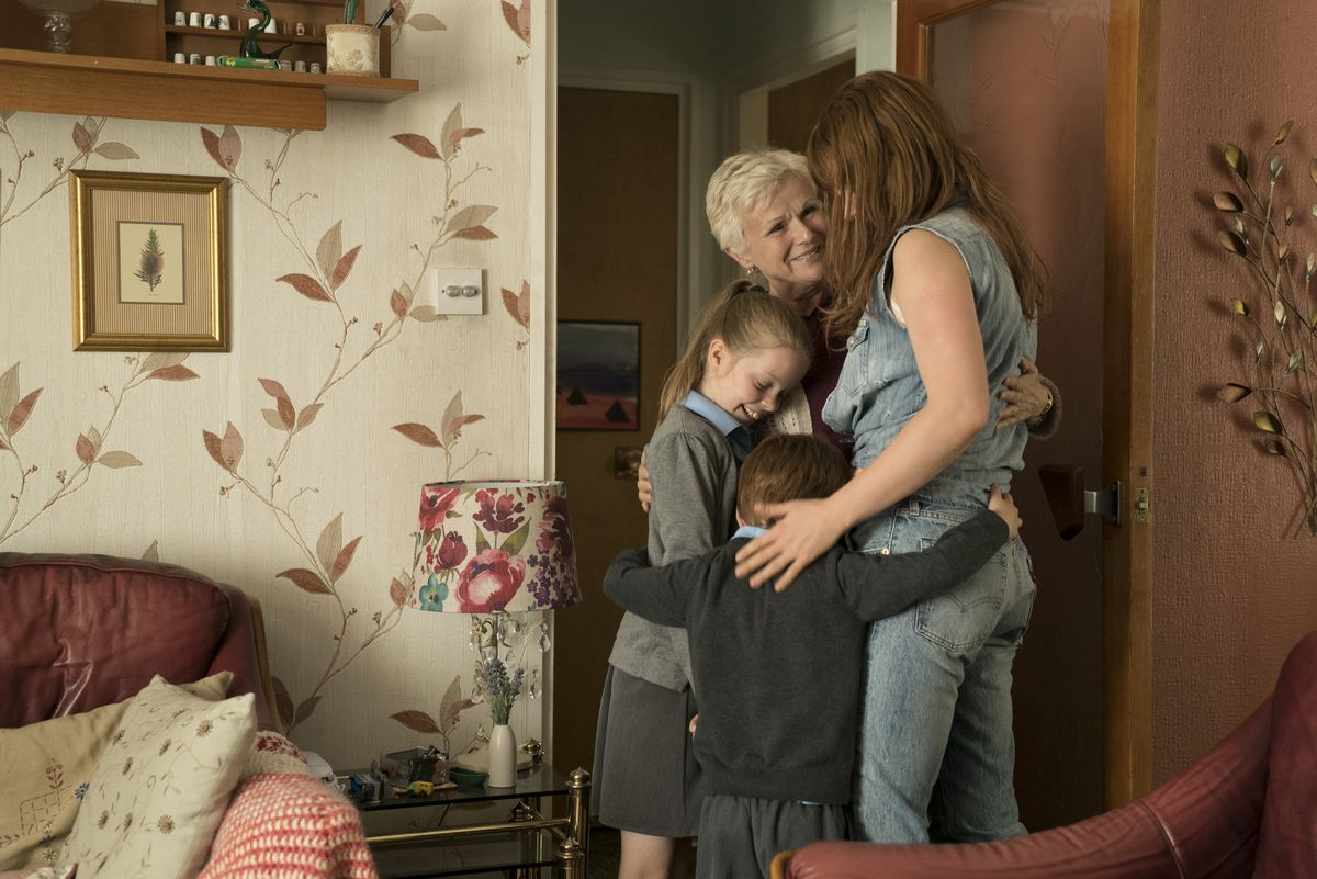 Marion (Julie Walters) and Rose-Lynn Harlan (Jessie Buckley) in WILD ROSE. Courtesy of NEON