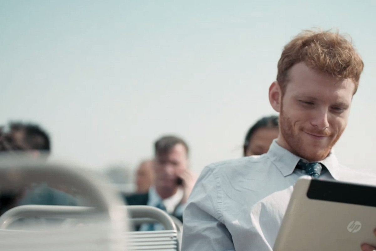HP Tablet Commercial