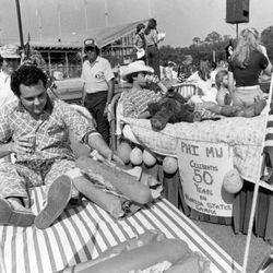<strong>1978- FSU Greek Bed Race at Doak</strong>