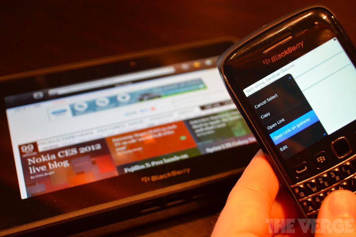 Gallery Photo: BlackBerry PlayBook OS 2.0 pictures