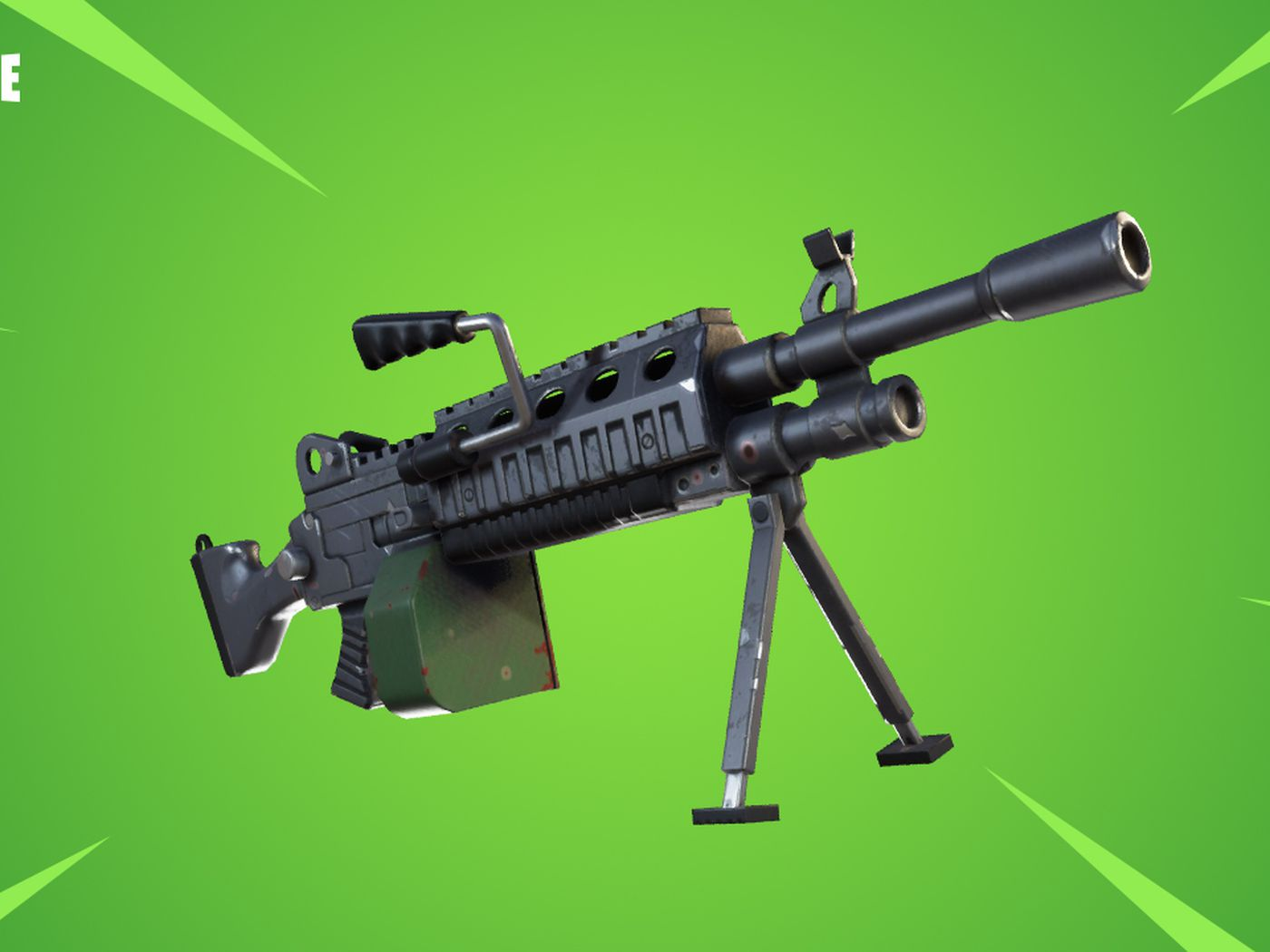 Fortnite Update Adds Lmgs And Fixes Dick Bullets Polygon