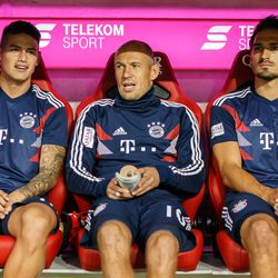Muller, Robben, Ribery, and Hummels have become somewhat accustomed to the bench under Kovac.