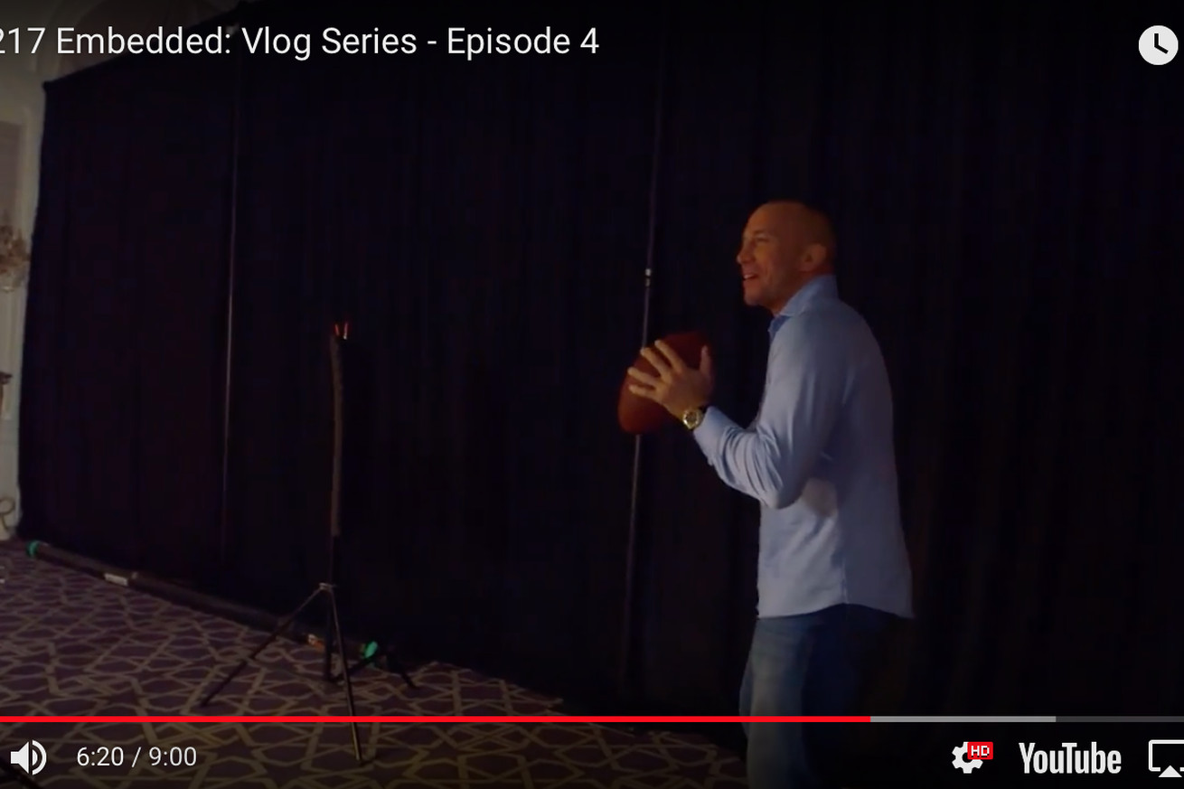 Ufc 217 embedded video blog for bisping vs st pierre in for How much are chip and joanna paid per episode