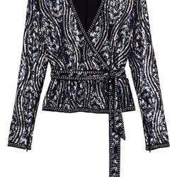 Sequins top, $195