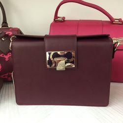 Small Bordeaux bag, $355 (was $710)
