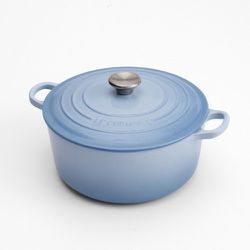 Le Creuset 4.5 Quart Round Oven in Coastal Blue, $305