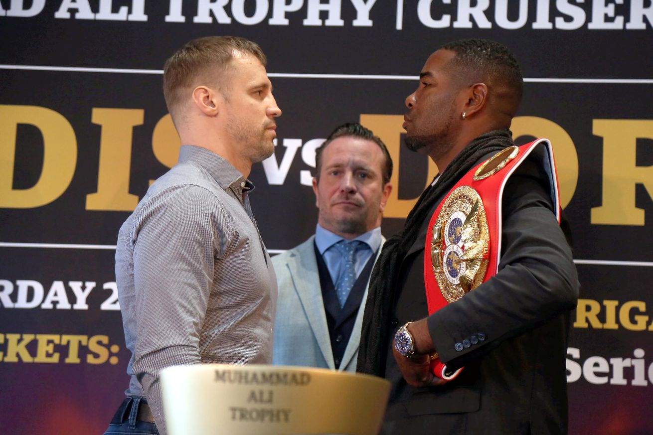 <label><a href='https://www.mvpboxing.com/news/boxing/32892/Briedis-Dorticos-Live-coverage-3-pm-ET' class='headline_anchor'>Briedis-Dorticos: Live coverage, 3 pm ET</a></label><br />Mairis Briedis and Yuniel Dorticos finally lock horns today in Germany for the Ali Trophy. Today a