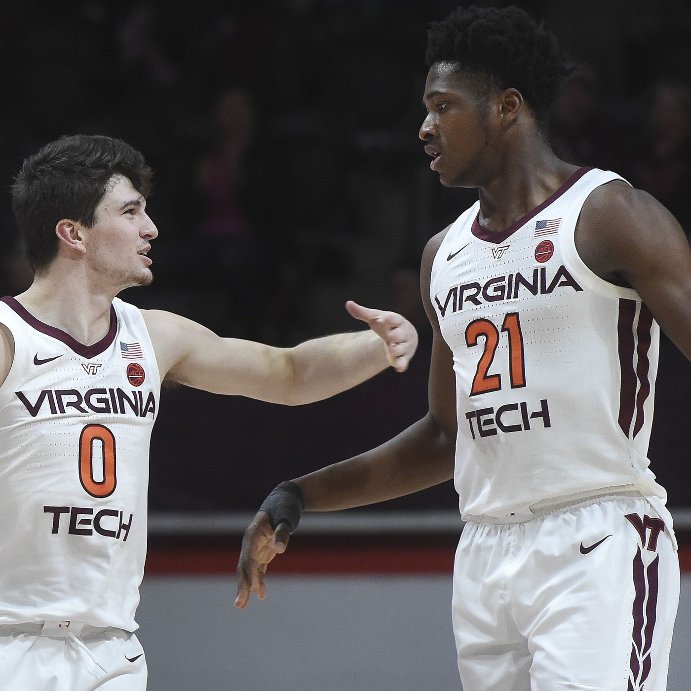 Virginia Tech Hokies Bench Sneaks By The Vmi Keydets Just Before The Holiday Gobbler Country