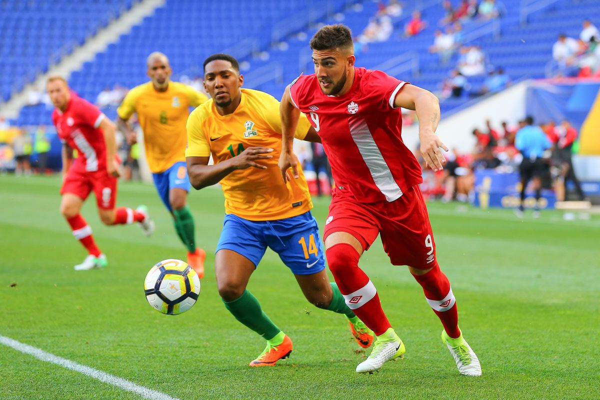 SOCCER: JUL 07 CONCACAF Gold Cup Group A - French Guiana v Canada