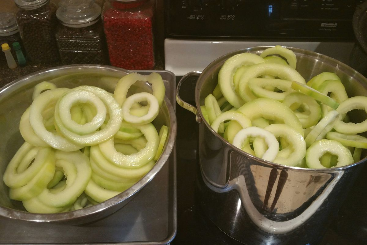 """Nothing says """"almost football season"""" like too much zucchini."""