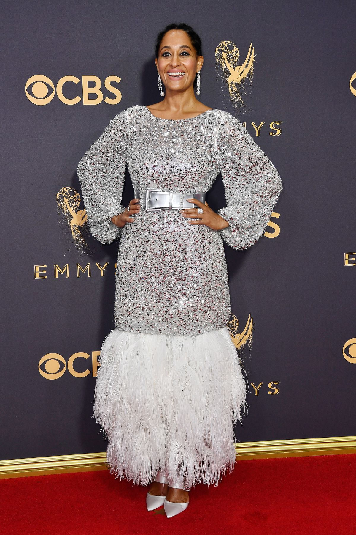 Tracee Ellis Ross in Chanel Haute Couture at the 2017 Emmys.