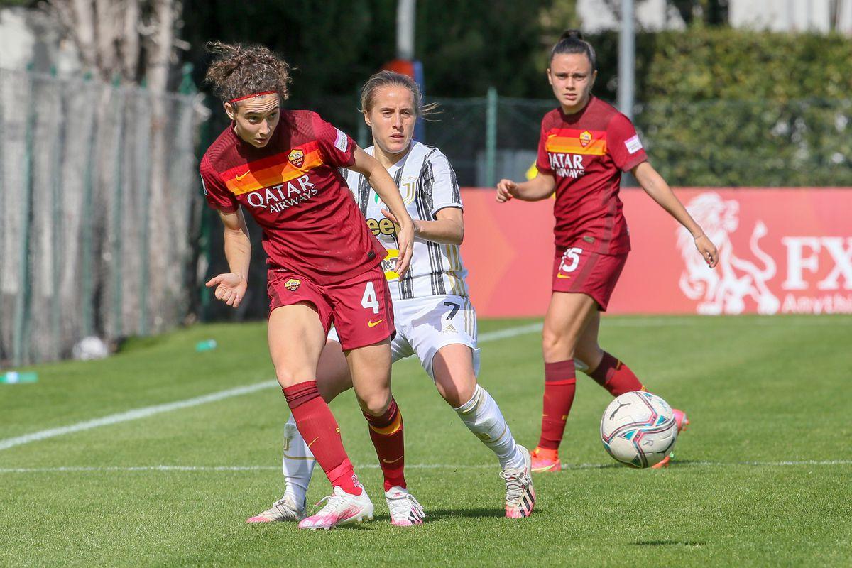 AS Roma v Juventus - Women's Coppa Italia