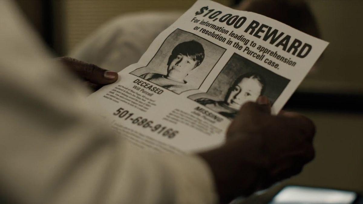 True Detective season 3 reward flyer