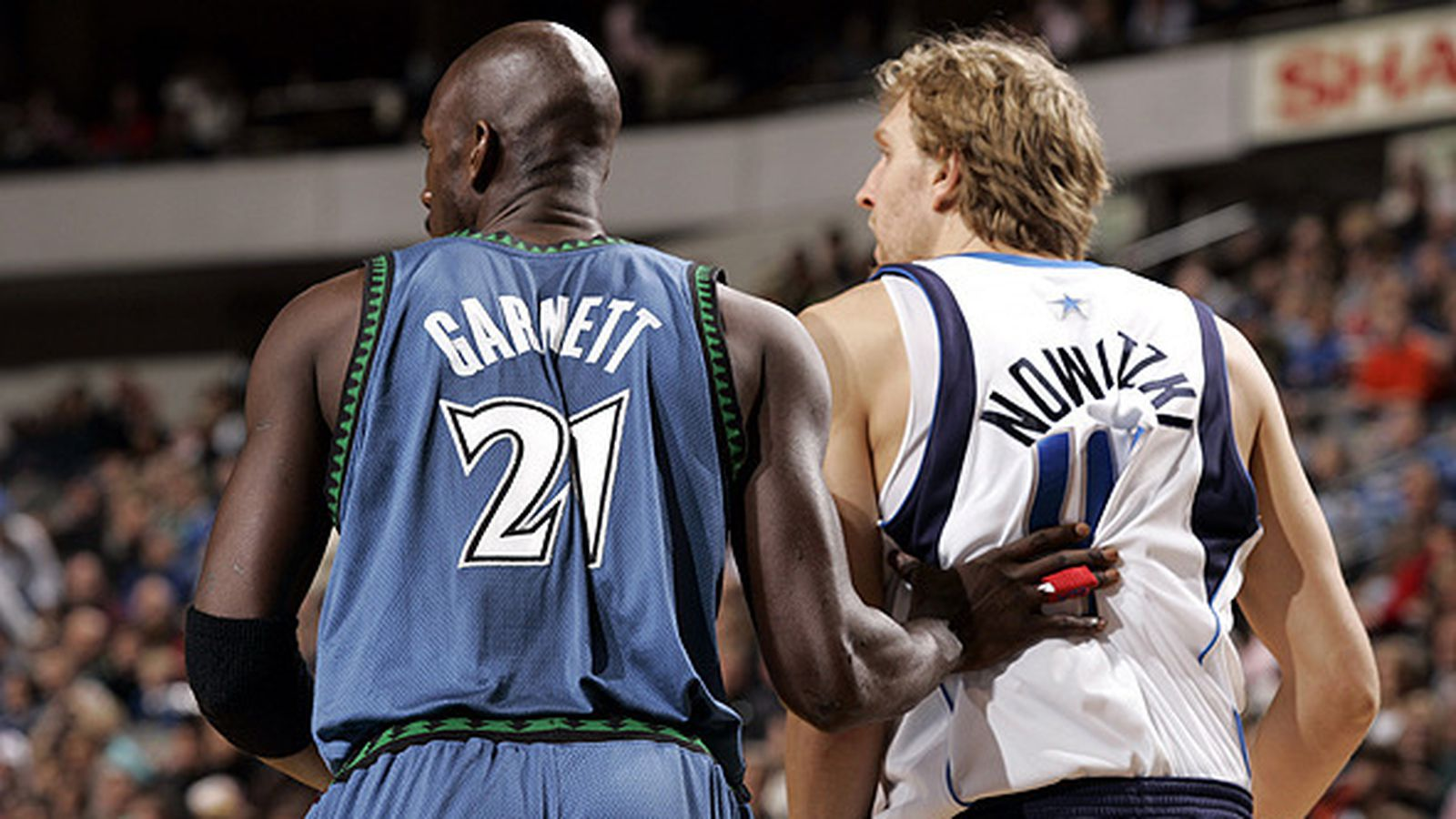 KG forever changed basketball and Dirk, too