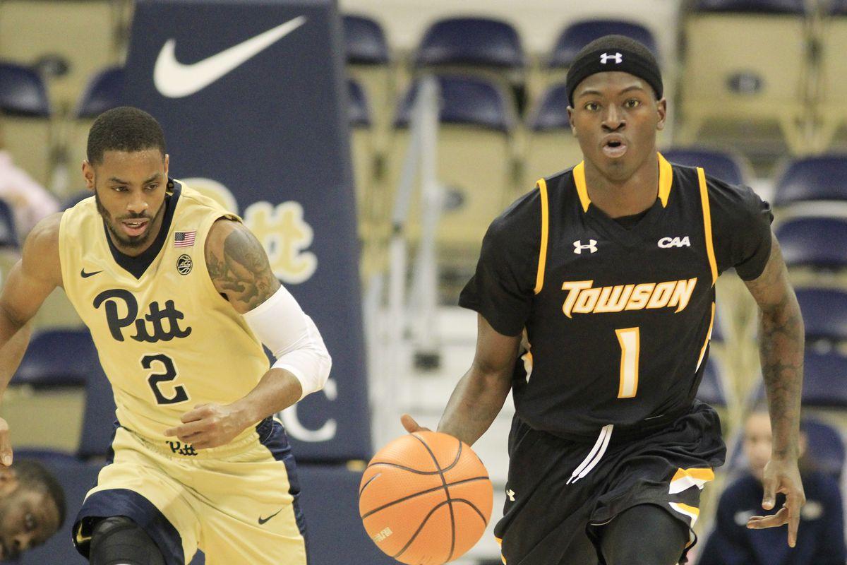 NCAA Basketball: Towson at Pittsburgh