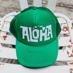 Pohaku Trucker Hat, $30