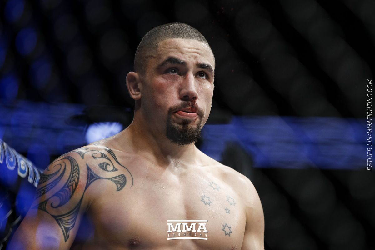 213 Whittaker, medical suspensions: UFC  Anthony Robert