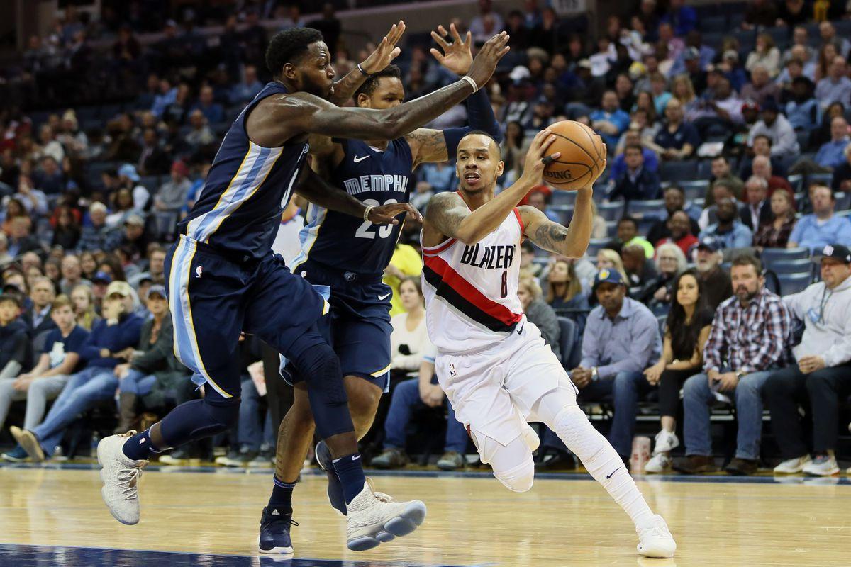 NBA: Portland Trail Blazers at Memphis Grizzlies