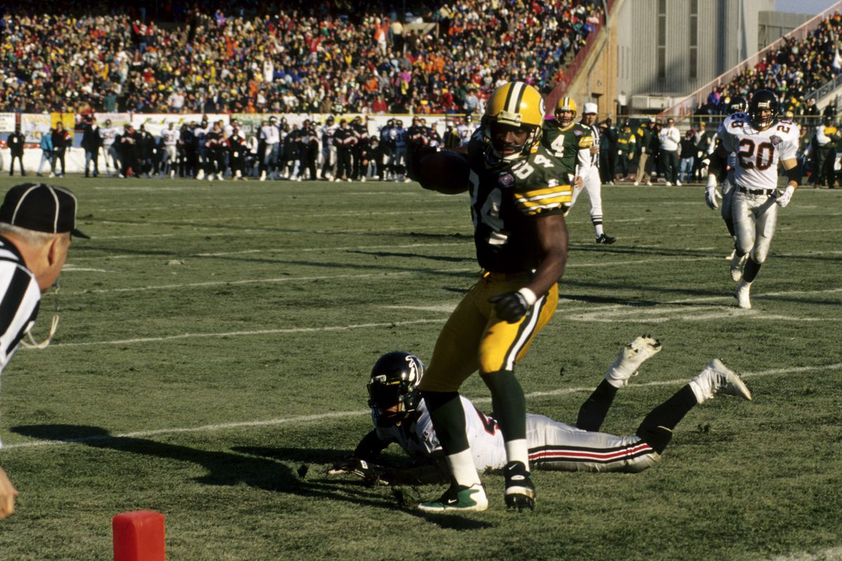 Atlanta Falcons vs Green Bay Packers - December 18, 1994