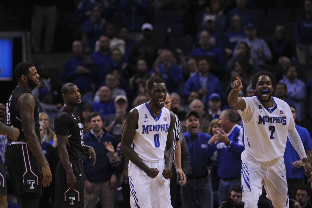 NCAA Basketball: Temple at Memphis