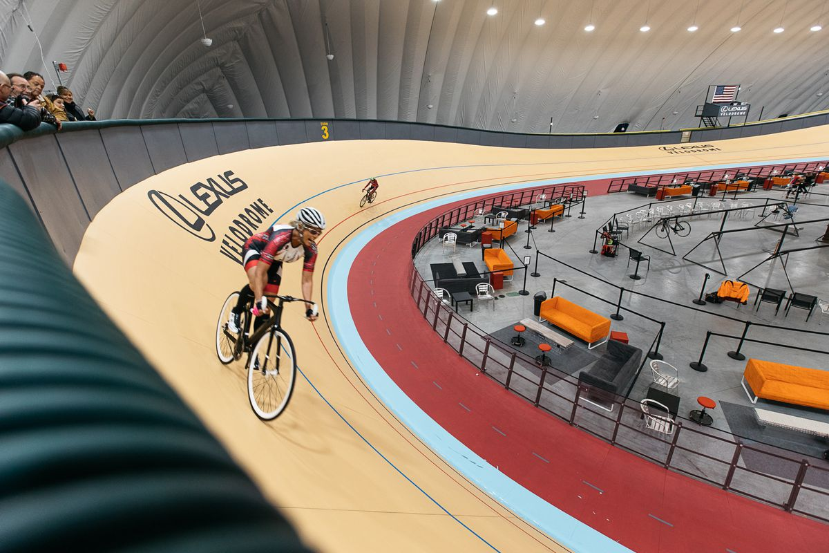 Lexus Of Atlanta >> Peek inside Detroit's new velodrome - Curbed Detroit