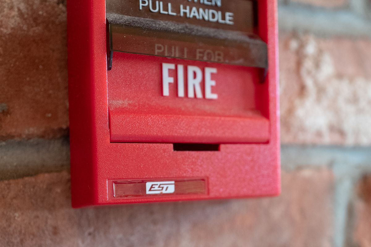 EST Fire Alarm Pull