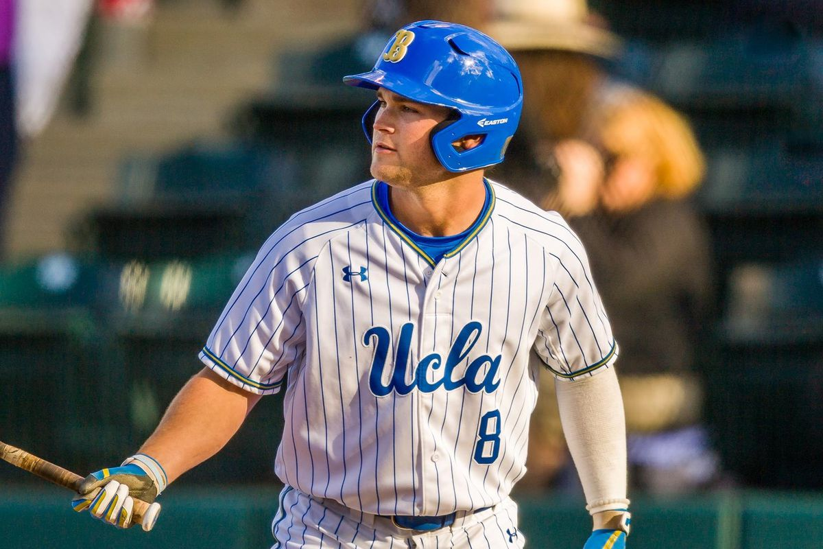 low priced a9cd2 b100c UCLA Baseball: Bruins Best Cowboys, 6-3; Face Southern Cal ...