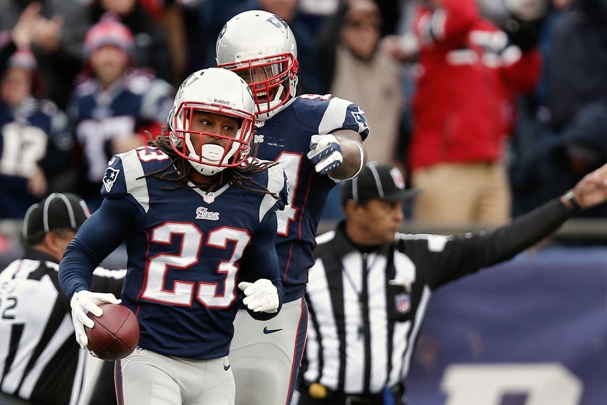 Look Back  Marquice Cole s Awesome Interception (GIF) - Pats Pulpit c13249d4b