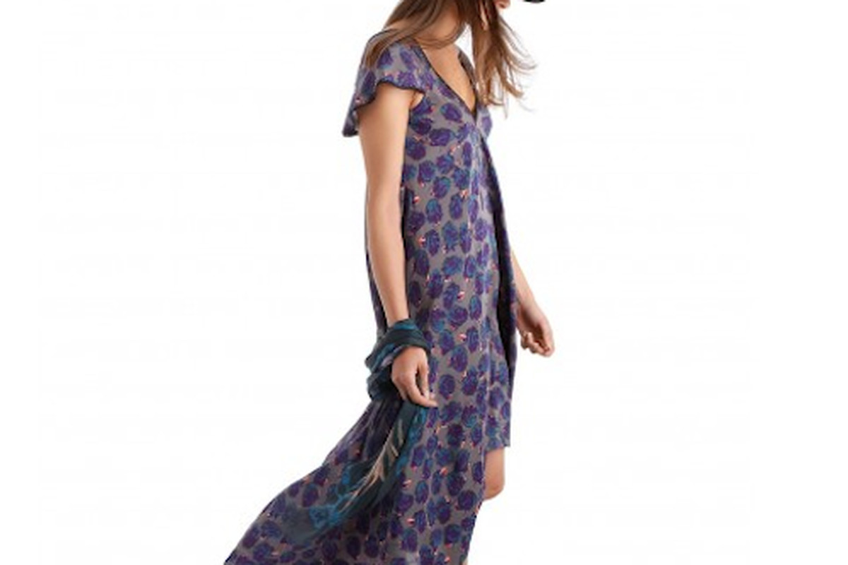 """Photo: <a href=""""http://us.zadig-et-voltaire.com/us/dress-woman-robe-reino-roses-deluxe-iron.html"""">via </a>Zadig &amp; Voltaire"""