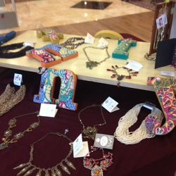 Rock'n Royalty jewelry, $100 to $200, and Matatraders jewelry, $20