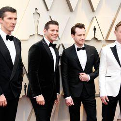 Gwilym Lee, Allen Leech, Joseph Mazzello, and Ben Hardyat the Annual Academy Awards| Frazer Harrison/Getty Images