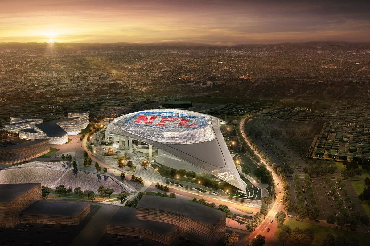 The Chargers Are Moving To La And Will Share The Rams Future Inglewood Stadium Curbed La