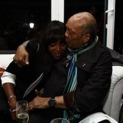 Naomi Campbell, Quincy Jones