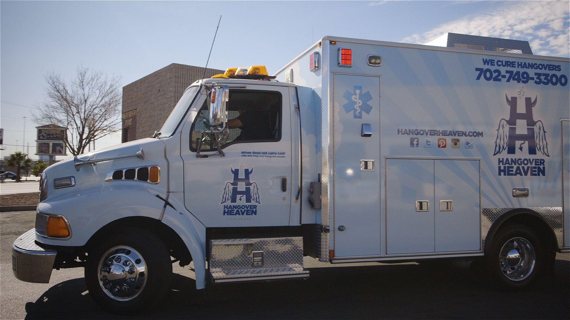 hangover heaven ambulance