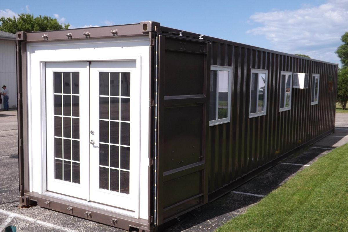 Shipping container house now available on Amazon for 36K Curbed