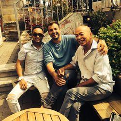 Chefs Ross Ninja San and Hong Hà Nguyen with owner Nic Urli