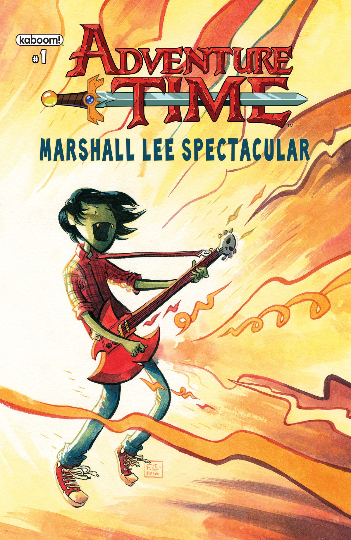 Adventure Time Gets Spectacular With Marshall Lee