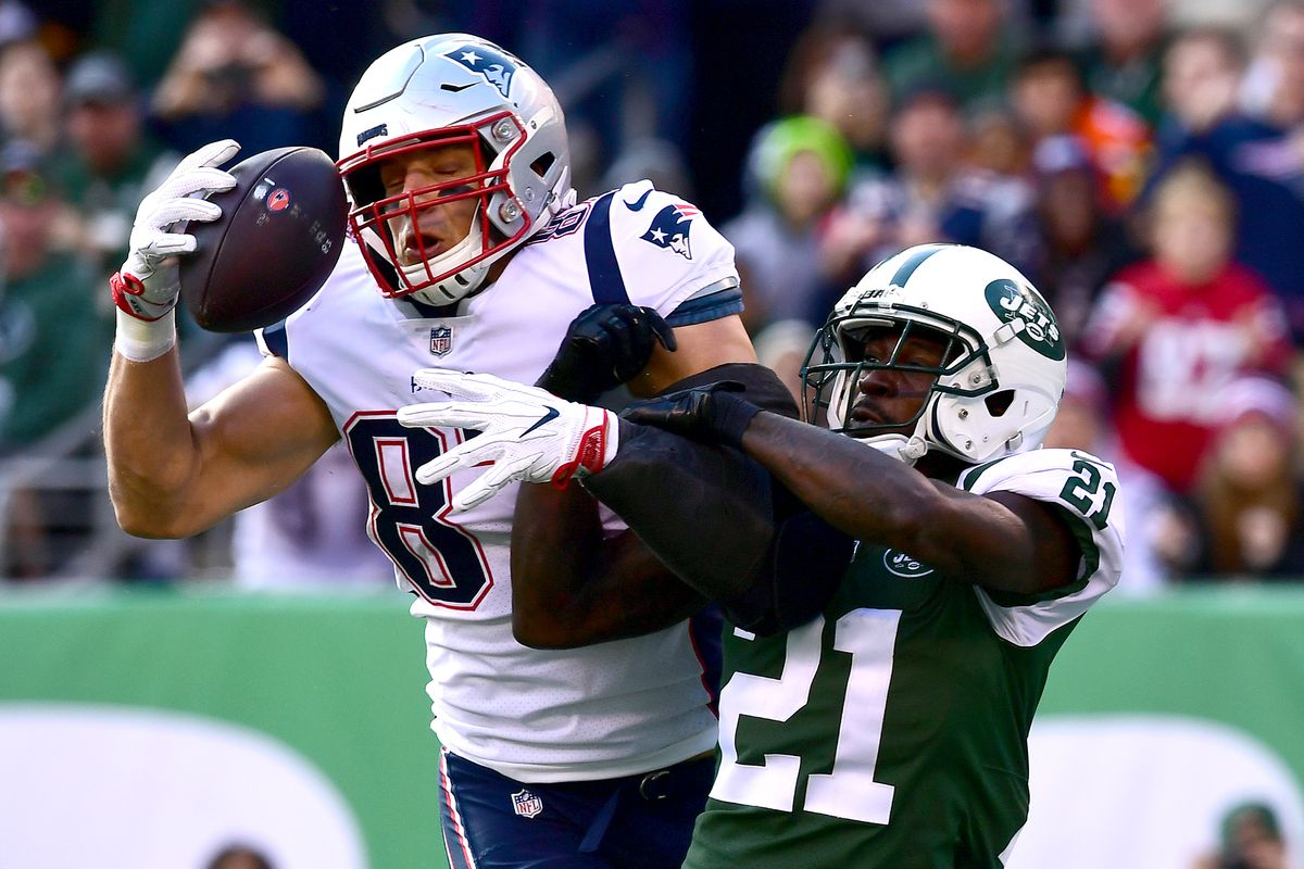 9990df4d6 Film room  The Patriots  first touchdown against the Jets was vintage Tom  Brady-to-Rob Gronkowski