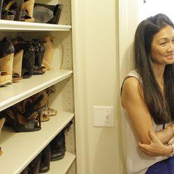 """My husband [Madison president, Mark Goldstein] definitely has influence on the shoes I wear."""