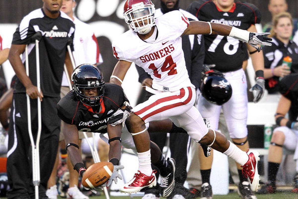 Aaron Colvin is a name OU fans will become very familiar with this spring.  (Photo by Andy Lyons/Getty Images)