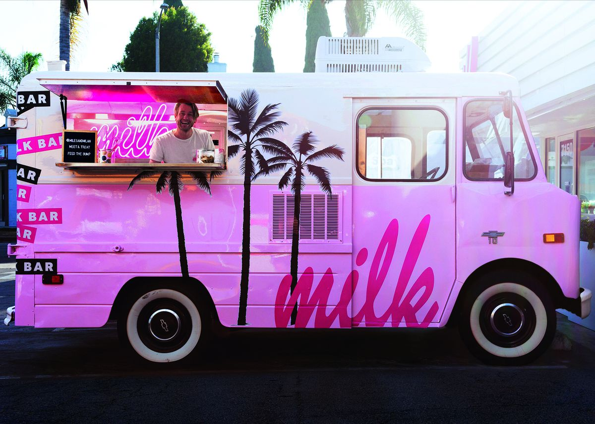 Milk Bar's truck