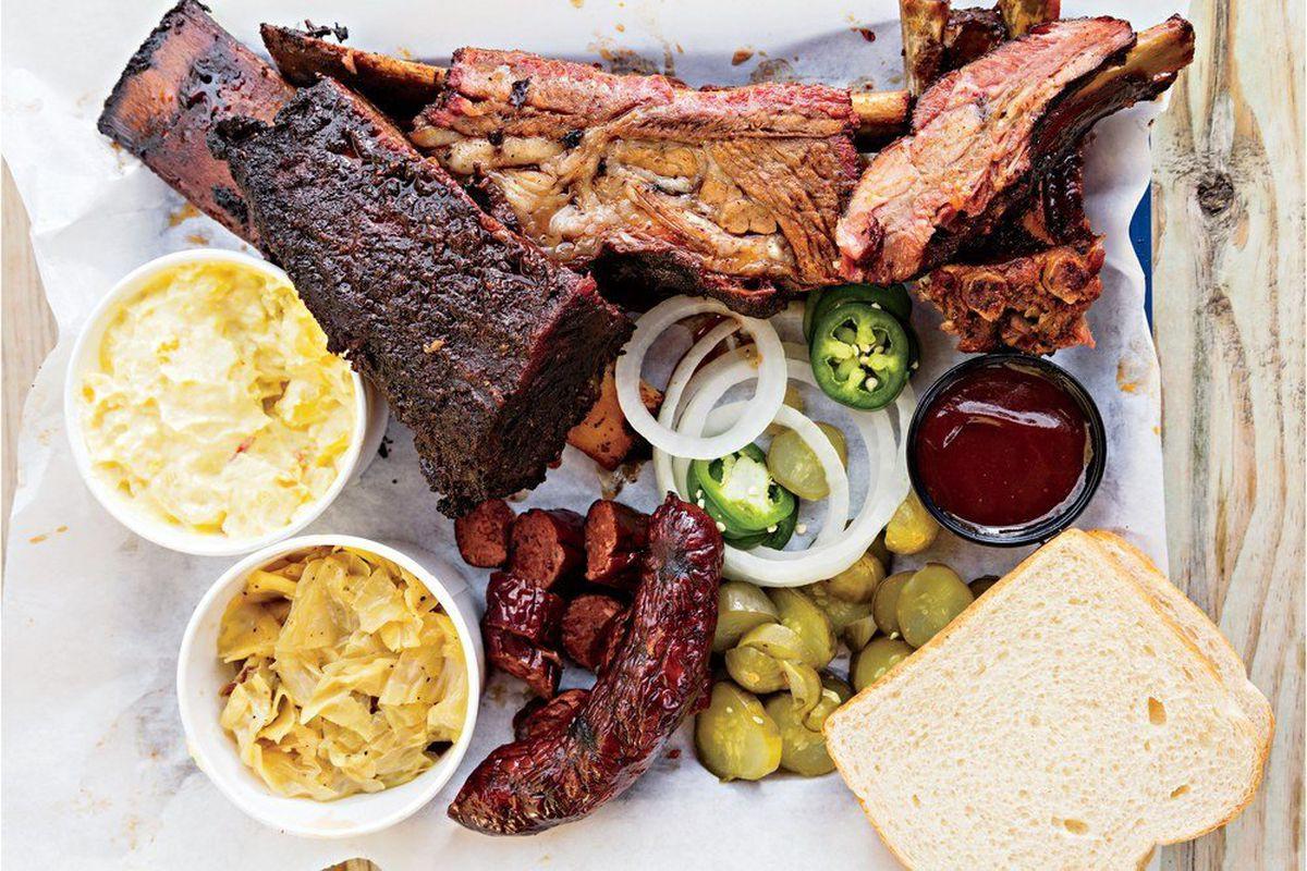 J. Leonardi's Barbeque's barbecue