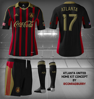 free shipping 572ea f7532 Ranking the Atlanta United FC Concept Kits - Dirty South Soccer